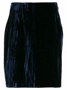 Dolce & Gabbana Pre-Owned 1990's gathered short skirt - Blue