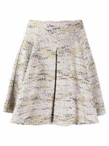 Missoni Pre-Owned 2000's flared mini skirt - Neutrals