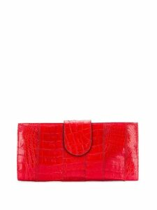 A.N.G.E.L.O. Vintage Cult 1960's strap oversized clutch - Red