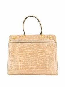 A.N.G.E.L.O. Vintage Cult 1980's structured tote - Neutrals