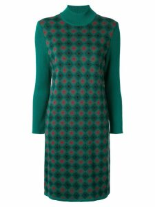 Yves Saint Laurent Pre-Owned one piece dress - Green