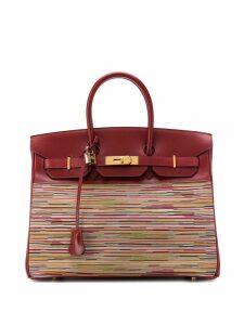 Hermès Pre-Owned Birkin Vibrato Collector 2002 - Red