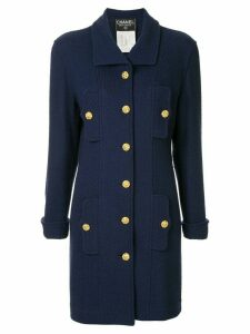Chanel Pre-Owned Long Sleeve Jacket - Blue