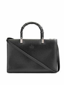 Gucci Pre-Owned Bamboo Line 2way handbag - Black