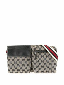 Gucci Pre-Owned Shelly Line GG Supreme belt bag - Multicolour
