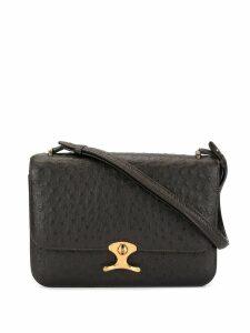 Hermès Pre-Owned logos shoulder bag - Black