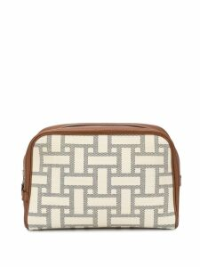 Hermès Pre-Owned Trousse Victoria GM Cosmetic Pouch - Neutrals