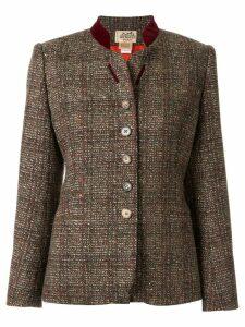 Hermès Pre-Owned Hermes long sleeve jacket - Brown