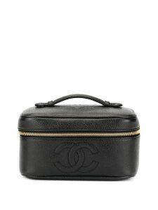 Chanel Pre-Owned Cosmetic Vanity hand bag - Black