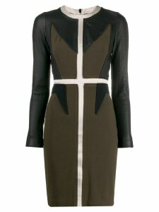 Givenchy Pre-Owned '2000s panelled dress - Black