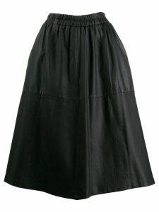 A.N.G.E.L.O. Vintage Cult '90s leather skirt - Black