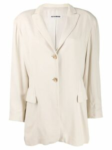 Jil Sander Pre-Owned buttoned blazer - Neutrals