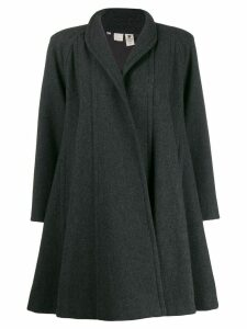 Emanuel Ungaro Pre-Owned '1980s oversized coat - Grey