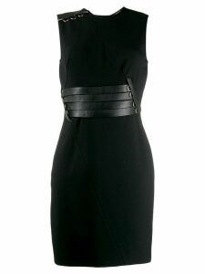 VERSACE PRE-OWNED '2000s fitted dress - Black