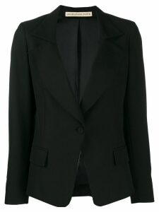 Balenciaga Pre-Owned '2000s one button blazer - Black