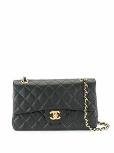 Chanel Pre-Owned Double Flap Shoulder Bag - Blue