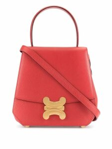 Céline Pre-Owned Macadam 2way Hand Bag - Red