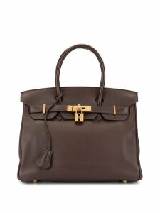 Hermès Pre-Owned Birkin 30 bag - Brown