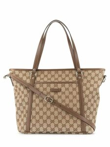 Gucci Pre-Owned GG Pattern 2way Hand Tote Bag - Brown