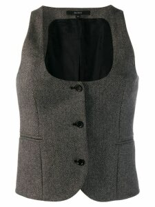 GUCCI PRE-OWNED 1990'S Gucci waistcoat - Brown