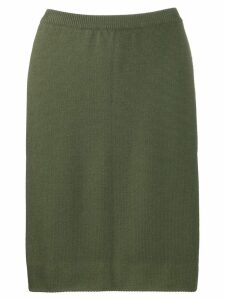 Céline Pre-Owned '1970s pencil skirt - Green