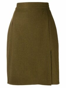 Gucci Pre-Owned '1990s pencil skirt - Green