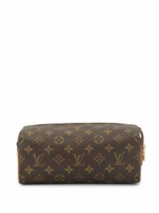 Louis Vuitton Pre-Owned Trousse Patte Pression cosmetic pouch - Brown