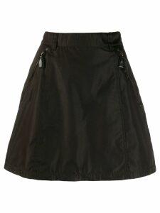 Prada Pre-Owned A-line mini skirt - Brown