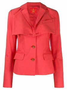 Vivienne Westwood Pre-Owned fitted layered jacket - Pink