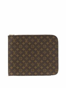 Louis Vuitton Pre-Owned Poche Documents 33 clutch - Brown