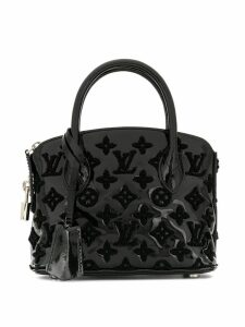 Louis Vuitton Pre-Owned Vernis Lockit BB Bouclette handbag - Black