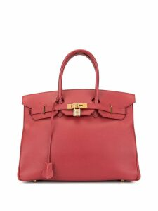 Hermès Pre-Owned Birkin 35 bag - Red