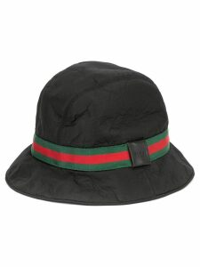 Gucci Pre-Owned GG Shelly line hat - Black