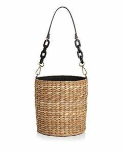 Kayu Colette Woven Bucket Bag