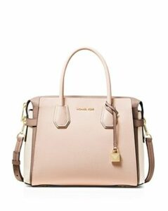 Michael Michael Kors Mercer Medium Belted Color-Block Satchel