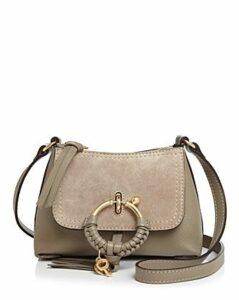 See by Chloe Joan Mini Leather & Suede Hobo