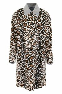 Bottega Veneta Leopard-printed Coat