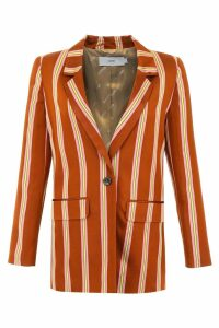 Closed Striped Cox Blazer