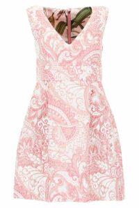 Dolce & Gabbana Lurex Jacquard Mini Dress