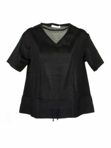 Fabiana Filippi Ruched Drawstring Top