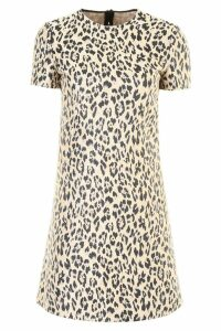 Valentino Leopard Mini Dress