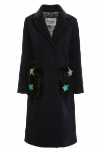 Ava Adore Coat With Fur Pockets