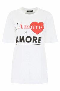 Dolce & Gabbana Lamore è Amore T-shirt