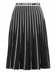 Off-White Stretch Skirt