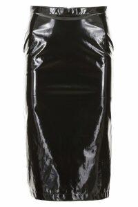 N.21 Vinyl Pencil Skirt