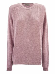 Laneus Pink Classic Knit Sweater