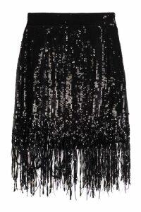 MSGM Sequined Mini Skirt
