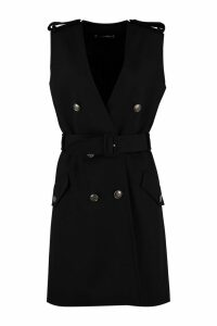 Givenchy Wrap Mini Dress With Belt