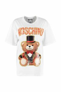 Moschino Printed Oversize T-shirt