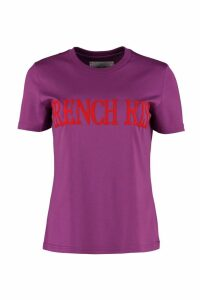 Alberta Ferretti French Kiss Cotton T-shirt